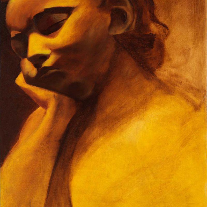 Sleeping Angel Oil Painting by Marie Frances