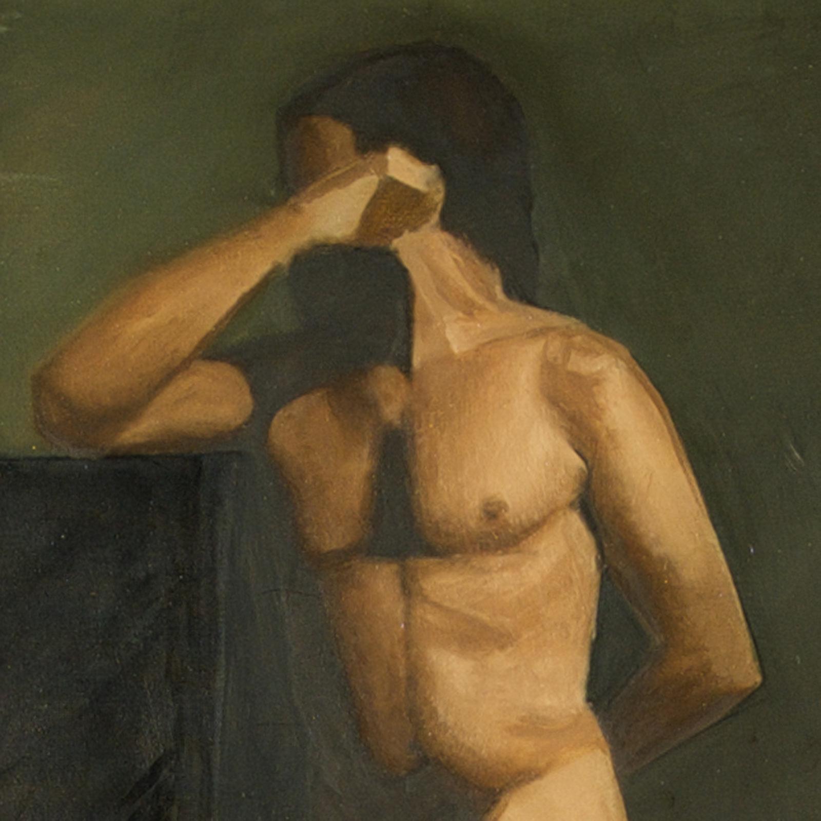 Oil Figure Study by Marie Frances