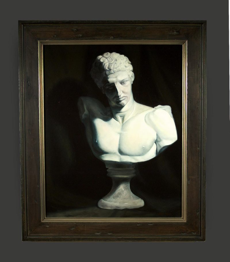 Hermes Cast Oil Painting by Marie Frances