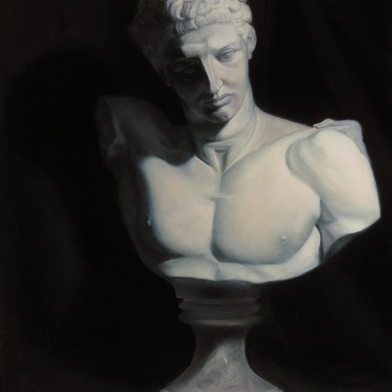 Oil Painting of Hermes by Marie Frances