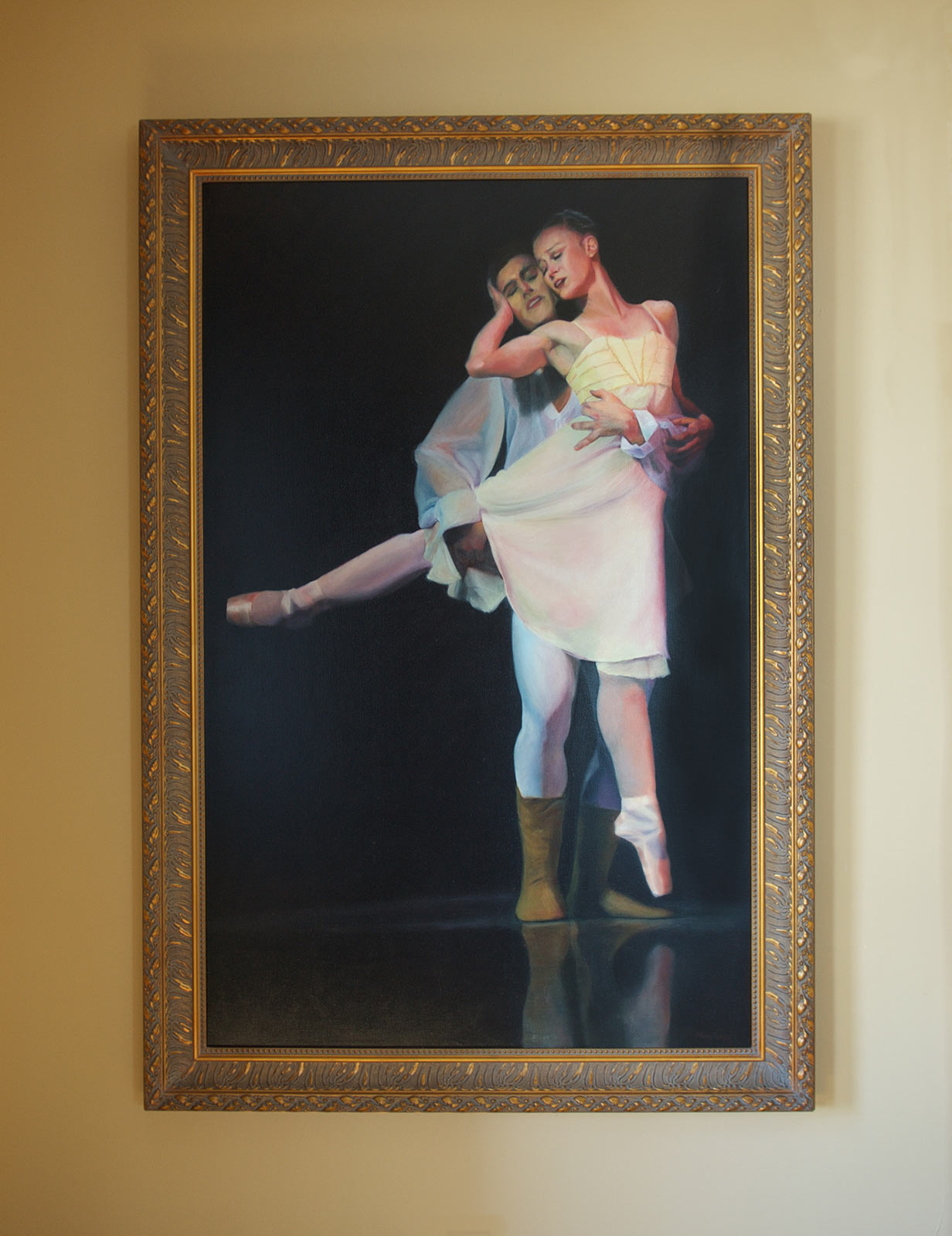 Romeo & Juliet Oil Painting by Marie Frances