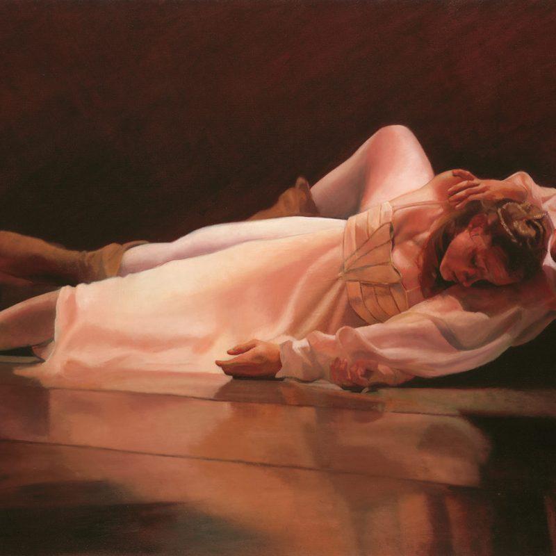 Romeo & Juliet Epilogue Oil Painting by Marie Frances
