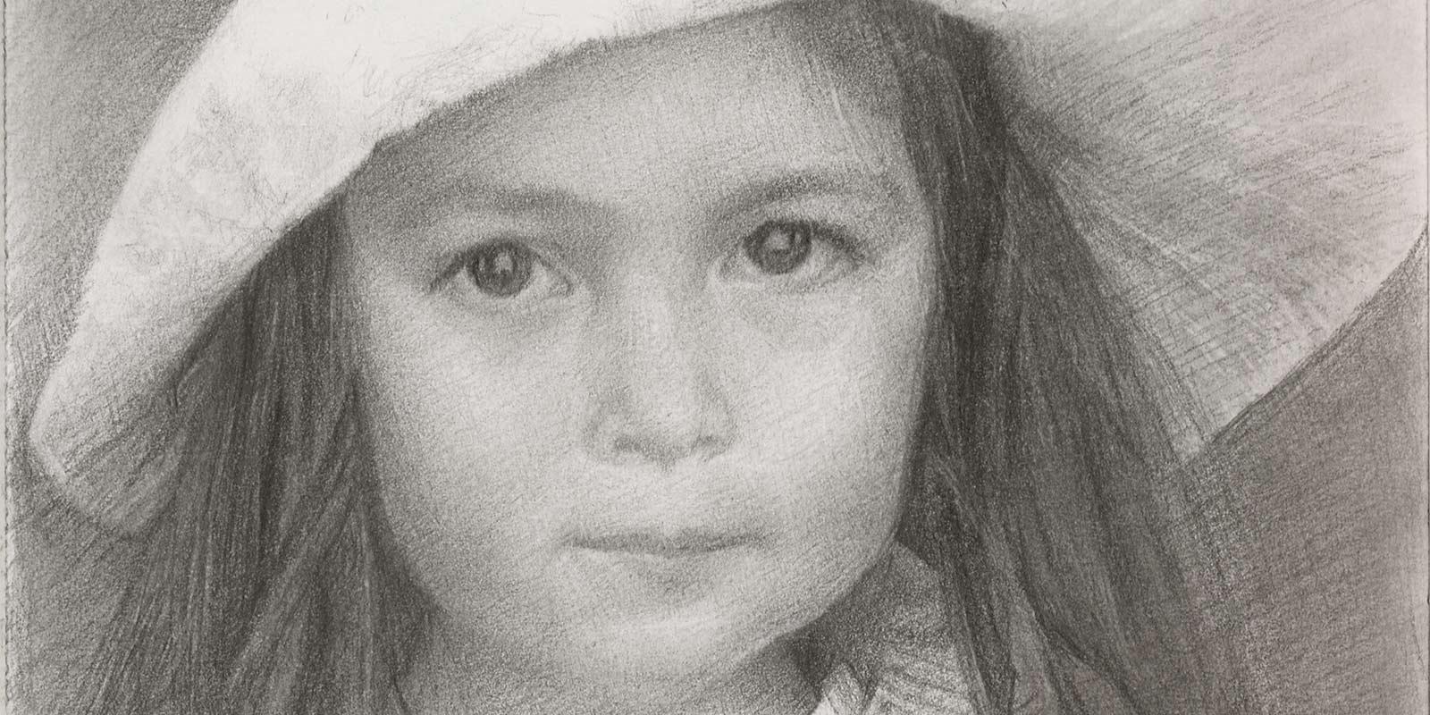 Portrait of Katherine by Marie Frances