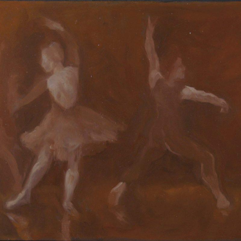 Gesture Sketch of Dancers by Marie Frances