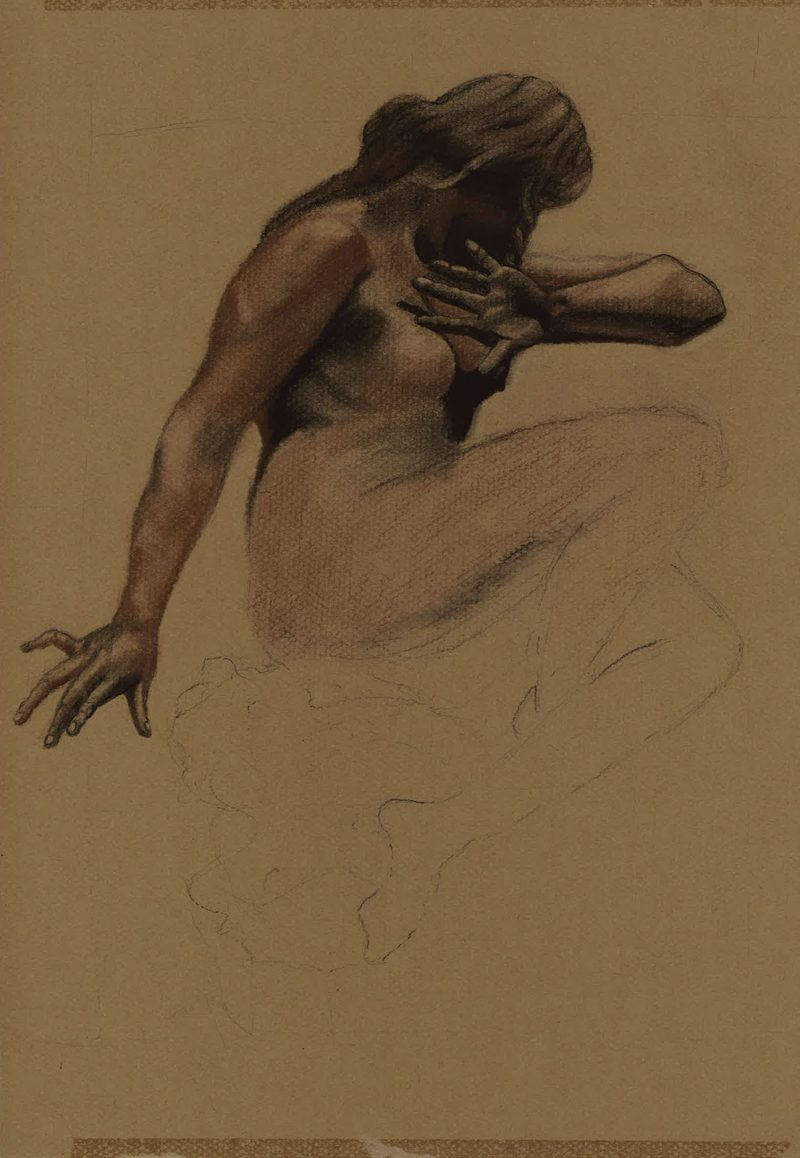 Conte Study of Eve by Marie Frances