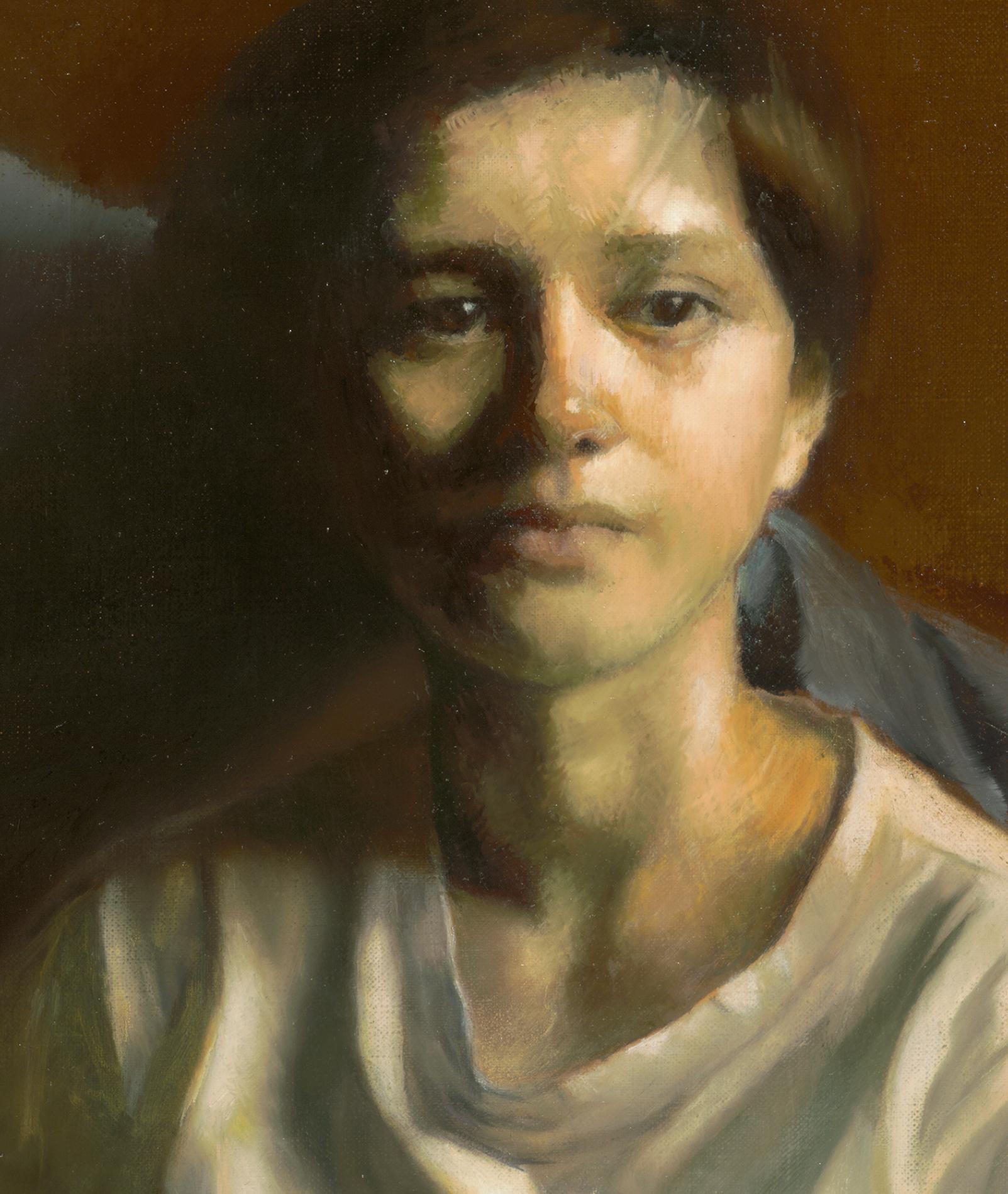 Portrait of Stephanie (detail) by Marie Frances